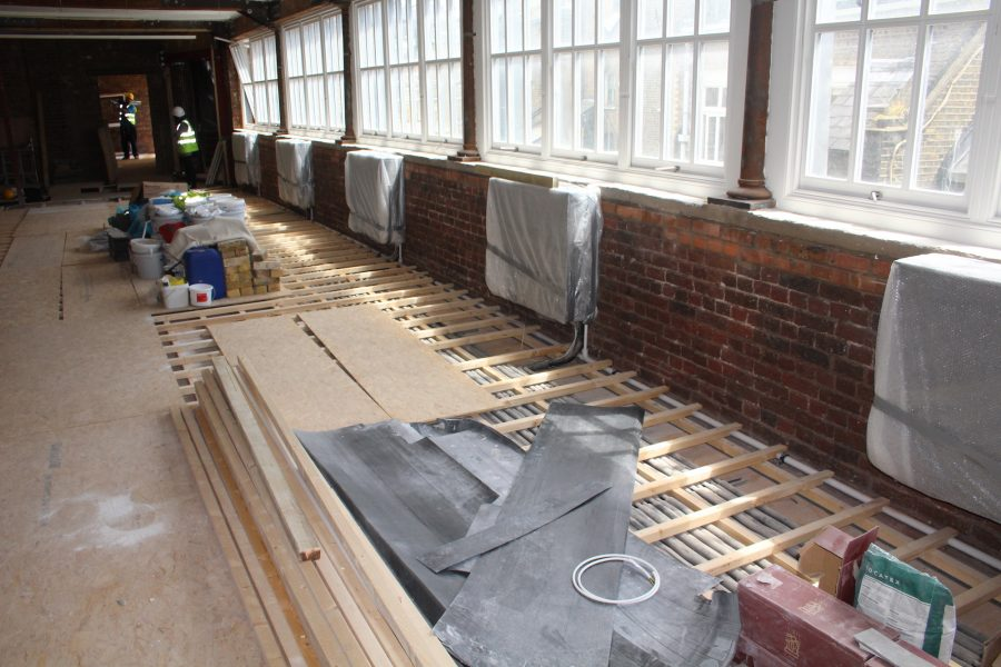 Dyfed Richards preparation of sub floors