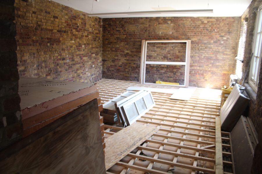 Dyfed Richards preparation of sub floors